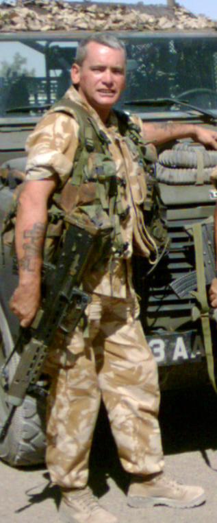 John Todd,  Iraq