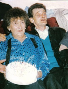 Mary Bleakley with son Billy